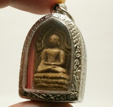 PHRA KONG THAI ANTIQUE FOR MERCHANT INVESTOR MIRACLE BUDDHA AMULET GREAT PENDANT image 4