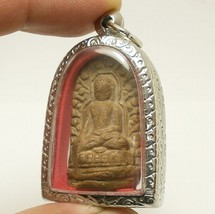 PHRA LUE LAMPOON THAI BUDDHISM ANTIQUE BUDDHA LUCKY SUCCESS AMULET RARE PENDANT image 3