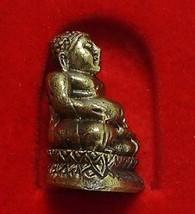 TINY MINIATURE HAPPY BUDDHA SANGKAJAI HOTEI BUDAI REAL THAI MINI AMULET RICH WIN image 5