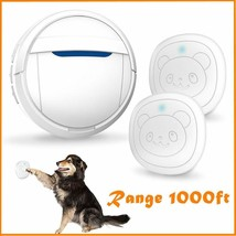 Snewvie Smart Doggie Doorbell for Potty Training IP55 Waterproof Touch B... - $45.20 CAD