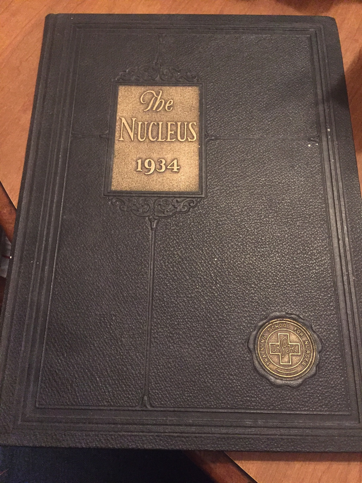 The Nucleus 1934 yearbook drh118