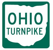 Ohio Turnpike Sticker R3688 Highway Sign Road Sign - $1.45+