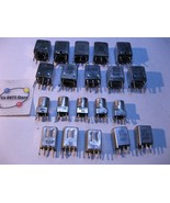 Qty 20 Adjustable Transformer Tuning Coil Assorted Numbers Grab-Bag USED... - $10.92