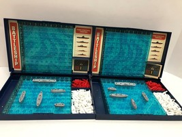 1978 BATTLESHIP Strategy Naval Board Game COMPLETE by Milton Bradley Vin... - $19.79
