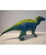 """Used 4"""" tall plastic Scelidosaurus dinosaur figurine figure - $11.87"""