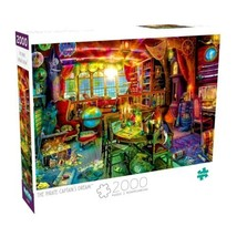 2000 Piece Jigsaw Puzzle Buffalo Games - The Pirate Captains Dream - $34.15