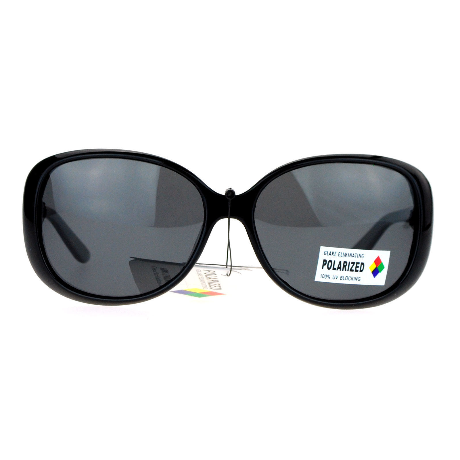 Polarized Lens Womens Sunglasses Round Oval Designer Frame Fashion