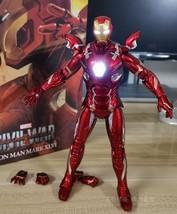 """LED Lighting MK46 Avengers Ironman 7"""" Mark46 PVC Model Action Figure NEW Toy - $38.99"""
