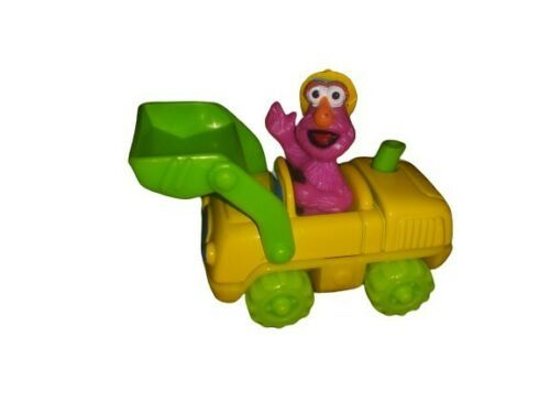 Primary image for 1997 Tyco Matchbox Sesame Street Die Cast Telly Monster Loader Construction