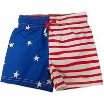 Cat & Jack™ Baby Boy's Patriotic USA Swim Shorts - Size: 9M, 18M, 2T - $9.99