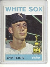 (b-30) 1964 Topps #130: Gary Peters - All-Star Rookie - $11.00