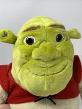 "Dreamworks Shrek the Halls Plush Macys 2007 Green Ogre Soft 19"" Stuffed Toy Doll - $13.99"