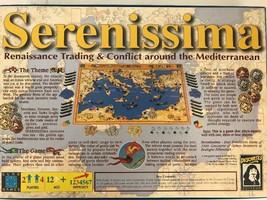Serenissima Board Game Renaissance Trading Conflict Mediterranean First ... - $28.02