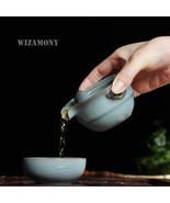 WIZAMONY Kung Fu Tea set Include 1 Pot 1 Cup Tea Pot - $49.95