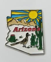 Vtg Arizona État AIMANT Voyage Souvenir Réfrigérateur Frigo Cuisine Décor - $10.89