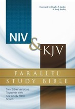 NIV, KJV, Parallel Study Bible, Hardcover: Two Bible Versions Together w... - $64.35