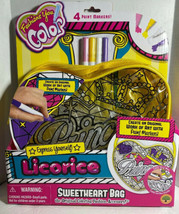 Express Yourself Fashions You Color Licorice Sweetheart Bag Princess W M... - $19.41
