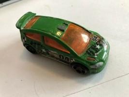 HOT WHEELS 1:64 STUNT TEAM  CAR GREEN BMW - $2.38