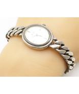GERMANY 925 Silver - Vintage Watch Curb Link Chain Bracelet - B5145 - $140.34