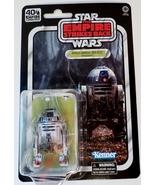 Star Wars 40th Anniversary Artoo-Detoo (R2-D2) (Dagobah) 6in scale Black... - $32.49