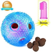 Dog Chew Ball Toy For Boredom -Bestanx IQ Treat Interactive Dental Ball Food - $24.04