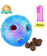 Dog Chew Ball Toy For Boredom -Bestanx IQ Treat Interactive Dental Ball... - £17.01 GBP