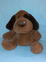 "2014 Best Made Toys Valentine's Floppy Brown Dog Plush Stuffed Animal Toy 20"" - $14.85"
