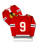 Bobby Hull Autographed Sweater Red Chicago Blackhawks Jersey - $150.00