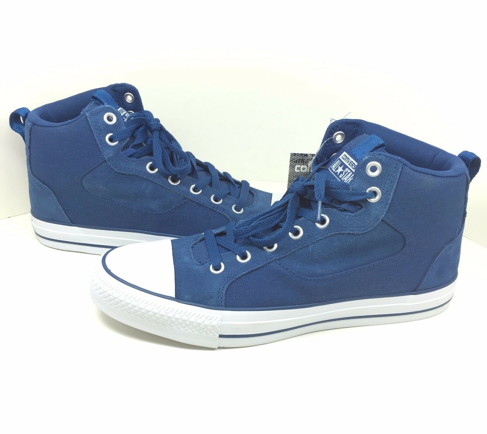 New Converse Chuck Taylor Asylum Mid Size 11 Men's All Star Blue Canvas 147110C