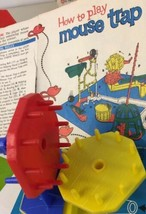 Original Mouse Trap Game Gear Part 3 Red Ideal 1963 Clean No Damage - $4.94