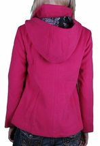 Iron Fist Heads Up Women's Pink PeaCoat NWT image 4