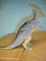 """Used 7"""" tall plastic dinosaur figurine figure image 1"""