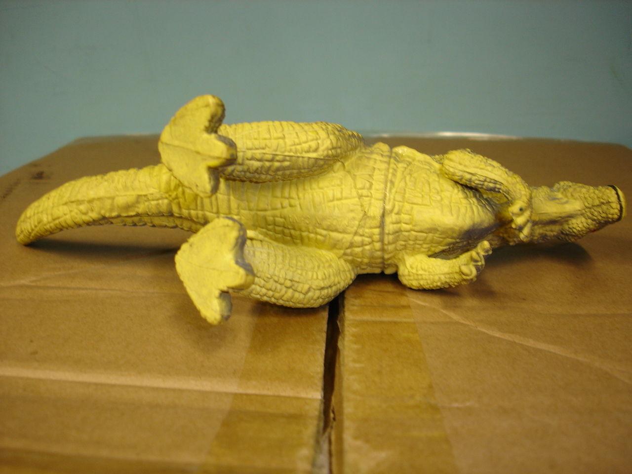 """Used 7"""" tall plastic dinosaur figurine figure image 6"""