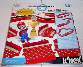 NEW Mario Kart Wii K'NEX Track Expansion Pack Nintendo Mario Kart Wii 25... - $25.09