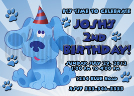 Blues clues birthday invitation thumb200
