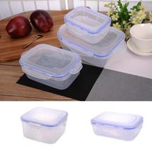 Jenify 3 Pcs/Set Plastic Kitchen Storage Boxes Lunch Box Airtight Seal F... - €28,24 EUR