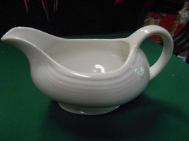 Great Collectible FIESTA White GRAVY BOAT - $17.41