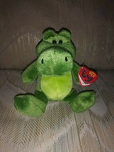 "TY Beanie Babies 2.0 Chompy Green Alligator Crocodile Plush NWT 2008 8"" ... - $17.81"