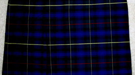 NWT SCHOOL APPAREL INC Uniform Skirt Navy Blue & Green Plaid 7584 NV/GR 10 TEEN image 2
