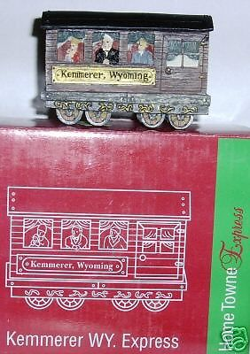 NIB JC PENNEY HOME TOWNE EXPRESS TRAIN KEMMERER WYOMING 1998 edition week 43