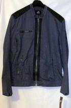 NWT Authentic Icon AMERICAN IDOL Biker Jacket Gray Patriotic Rock N Roll Men L image 1
