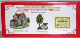 MIB 1999 LIBERTY FALLS CIVIL WAR VETERANS' HOME MEMORIAL & MINING SHARE ... - $14.00