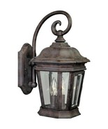 Cobblestone Finish Wall Lantern Outdoor 2 Light Progress Lighting P5671-33 - $143.99