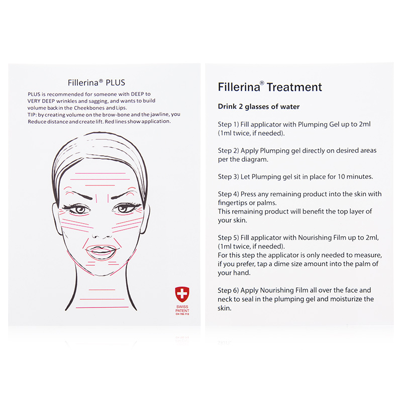 Fillerina Plus Dermo Cosmetic Filler Treatment With 8 Hyaluronic Acids Grade 4 5