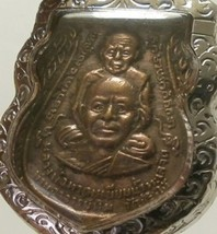 LP TUAD & TIM THAI STRONG PROTECTION REAL BUDDHA AMULET LUCKY RICH PENDANT RARE image 1