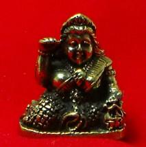 TINY NANG KWAK LADY LUCKY RICH TRADE THAI BUDDHA AMULET CHARM THAILAND TALISMAN image 1