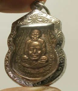 LP TUAD & TIM THAI STRONG PROTECTION REAL BUDDHA AMULET LUCKY RICH PENDANT RARE image 3