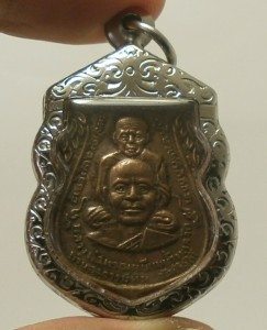 LP TUAD & TIM THAI STRONG PROTECTION REAL BUDDHA AMULET LUCKY RICH PENDANT RARE image 5