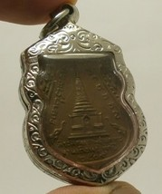 LP TUAD & TIM THAI STRONG PROTECTION REAL BUDDHA AMULET LUCKY RICH PENDANT RARE image 6