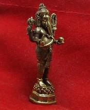 HINDU OM MINI AMULET GANESH GANESHA GANAPATI VINAYAKA GOD DEITY OBSTACLE SUCCESS image 5